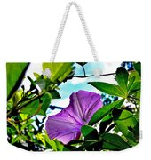 Droplets On Petal Weekender Tote Bag