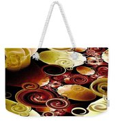 Drops And Ripples Weekender Tote Bag