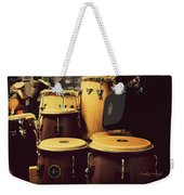 Drum Beat Weekender Tote Bag