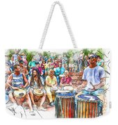 Drum Circle Of Friends Weekender Tote Bag