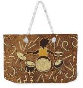 Drummer Weekender Tote Bag