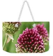Drumstick Allium Weekender Tote Bag