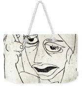 Drunk Girl Weekender Tote Bag