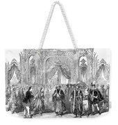 Drury Lane Theatre, 1854 Weekender Tote Bag