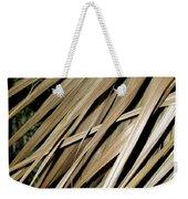 Dry Palm Leaves Weekender Tote Bag