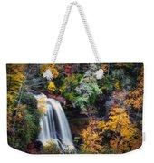Dry Falls In Autumn Weekender Tote Bag