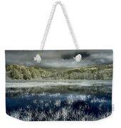 Dry Lagoon Winter Weekender Tote Bag
