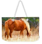 Dry Marsh Grasses Weekender Tote Bag