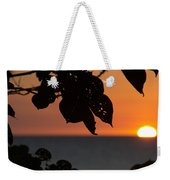 Dry Season Sunset Weekender Tote Bag