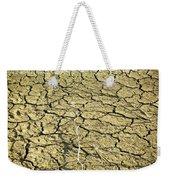 Dry Soil In Lake Bottom During Dryness Weekender Tote Bag