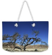 Dry Solitary Tree  Weekender Tote Bag