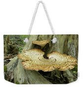 Dryads Saddle Bracket Fungi - Polyporus Squamosus Weekender Tote Bag