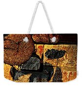 Drying Out Weekender Tote Bag by Chris Berry