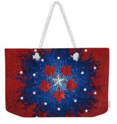Dual Citizenship 2 Weekender Tote Bag by First Star Art