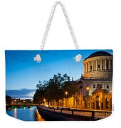 Dublin Four Courts Weekender Tote Bag