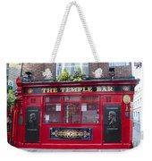 Dublin Ireland - The Temple Bar Weekender Tote Bag