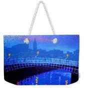 Dublin Starry Nights Weekender Tote Bag