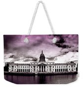 Dublin - The Custom House - Lilac Weekender Tote Bag
