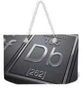 Dubnium Chemical Element Weekender Tote Bag