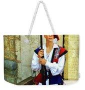 Dubrovnik Guard Weekender Tote Bag