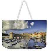 Dubrovnik Harbor Weekender Tote Bag