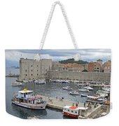 Dubrovnik Old Harbour Weekender Tote Bag