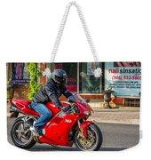 Ducati 748 Weekender Tote Bag