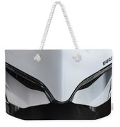 Ducati-unplugged V12 Weekender Tote Bag