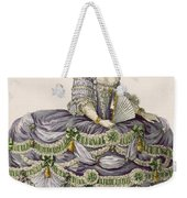 Duchess Evening Gown, Engraved Weekender Tote Bag