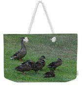Duck Assembly Weekender Tote Bag