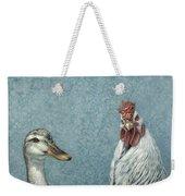 Duck Chicken Weekender Tote Bag