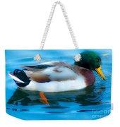 Duck Glide Weekender Tote Bag