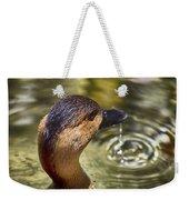 Duck Having Fun Weekender Tote Bag