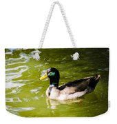 Duck In The Park Weekender Tote Bag