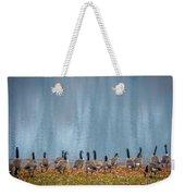 Duck Reflections Weekender Tote Bag