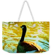 Duck Swimming Away Weekender Tote Bag