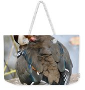 Duck Tails At The Buffalo Zoo Weekender Tote Bag