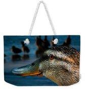 Duck Watching Ducks Weekender Tote Bag