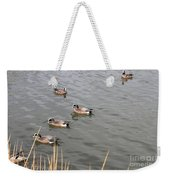 Duck With An Idea Weekender Tote Bag