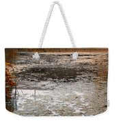 Ducking Under The Bridge Weekender Tote Bag