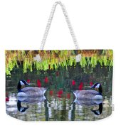 Duckland Pond Reflections Weekender Tote Bag