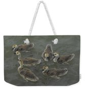 Ducklings Weekender Tote Bag