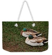 Ducks At Rest Weekender Tote Bag