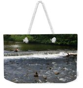 Ducks Enjoying The Open Air Weekender Tote Bag