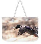 Ducks Have Teeth - Mallard Weekender Tote Bag