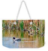 Ducks In A Marsh Weekender Tote Bag