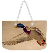 Ducks In Flight Weekender Tote Bag