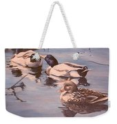 Ducks On The Cachuma Weekender Tote Bag