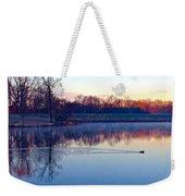 Duck's Sunrise Weekender Tote Bag