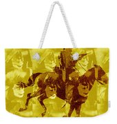 Duel In The Saddle 1 Weekender Tote Bag
